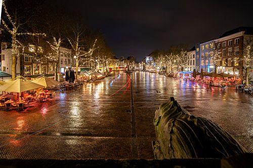 'De brink' stadsplein van Deventer
