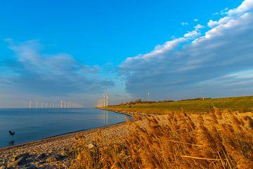 ijsselmeer windmolens van Han Kedde