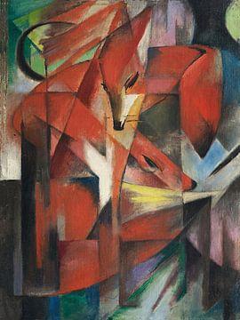 Franz Marc, Die Füchse, 1913