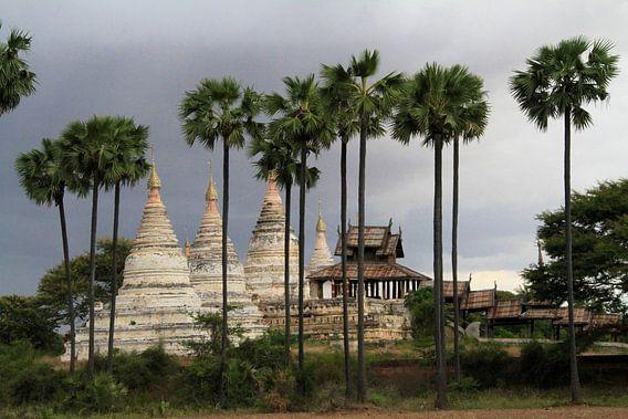 Pagodes in Bagan van Gert-Jan Siesling