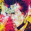 David Bowie Vintage Summer Splash Pop Art PUR von Felix von Altersheim Miniaturansicht