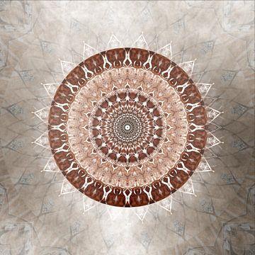 Mandala Sanftmut von Christine Bässler