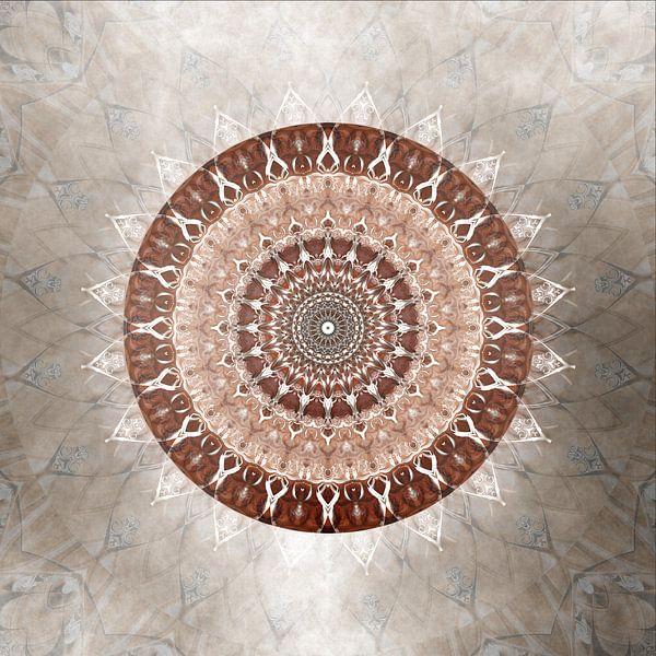 Mandala zachtmoedigheid van Christine Bässler
