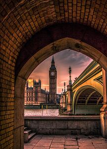 Big Ben doorkijkje van Henk Smit