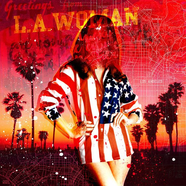 Greetings from L.A. Woman van Feike Kloostra