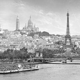 Panorama Parijs met een knipoog von Teuni's Dreams of Reality