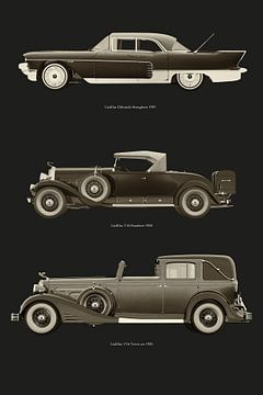 Cadillac legendarische modellen