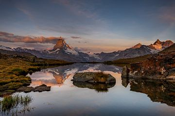 Matterhorn im Sonnenaufgang von Petra Leusmann
