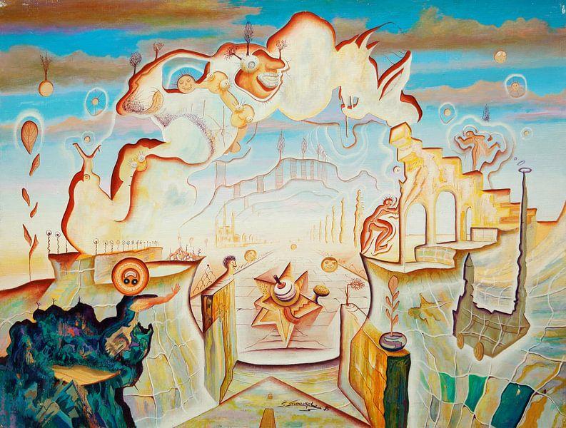 Brücke in den Wolken sur Art Demo