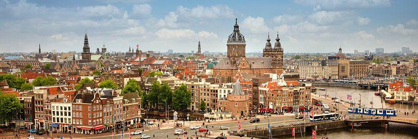 La plus ancienne partie du centre ville d'Amsterdam sur Frans Lemmens