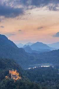 Hohenschwangau Castle and Alpsee