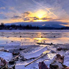 Mächtiges Eis am Staffelsee von Roith Fotografie
