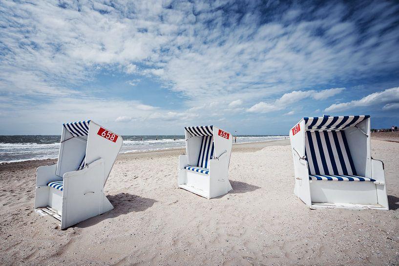 Norderney Beach van Alexander Voss