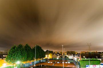 Bewegende wolken sur Jeffrey de Graaf