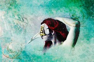 Mystery lady - Gedanken an Venedig von Annette Hanl