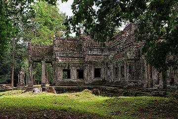 Preah Khan Tempel von Richard van der Woude