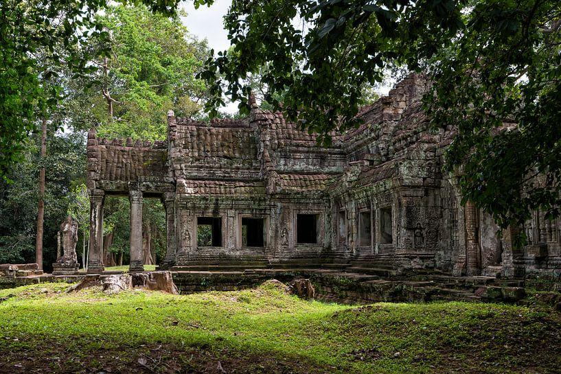 Preah Khan Tempel van Richard van der Woude