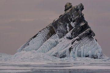 Bevroren rots van Jeroen Florijn