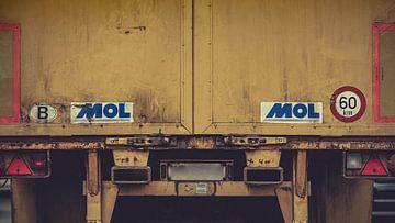 Vrachtwagen van Klaas Leussink