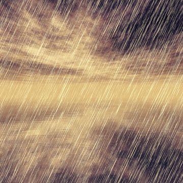 Rainy Landscape N.1 van Olis-Art
