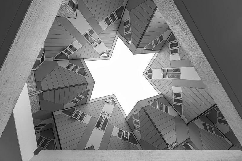 De Kubuswoningen in Rotterdam van MS Fotografie   Marc van der Stelt