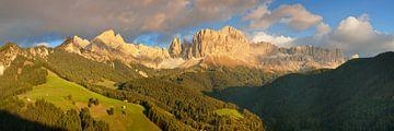Rosengarten bei Sonnenuntergang, Dolomiten von Markus Lange