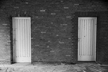 Zwei alte Türen von Norbert Sülzner