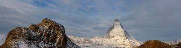 Matterhorn Panorama im Wallis Schweiz von Martin Steiner