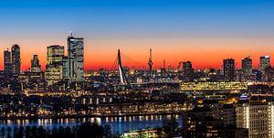 Another look on the Erasmus bridge Rotterdam