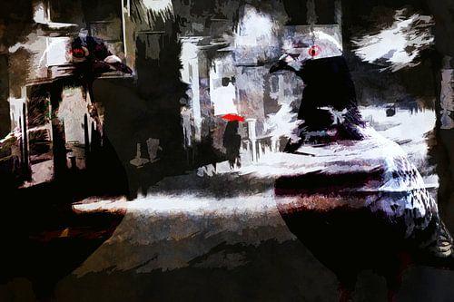 nachts von Dagmar Marina