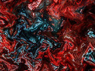Modern Kunstwerk 02 van Alexandra Kleist
