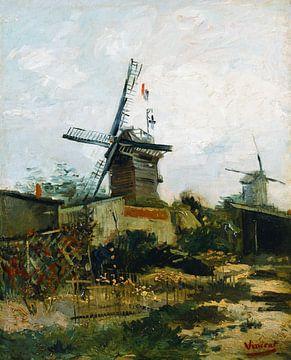Vincent van Gogh. Mühlen auf Montmartre von 1000 Schilderijen