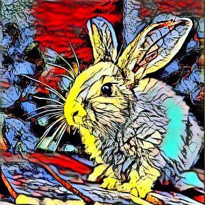 Color Kick Animal -Bunny