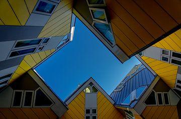 Cubes de Rotterdam sur Leo Luijten