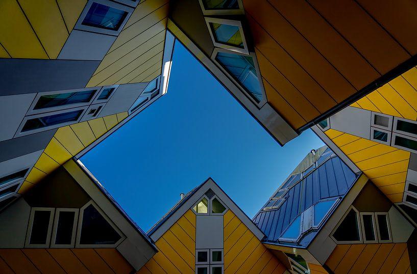 Rotterdamse Kubussen van Leo Luijten