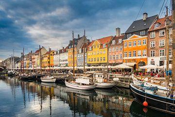 Nyhaven Denemarken van Van Renselaar Fotografie
