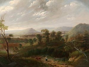 Sturmwolken, Berkshires, George Inness