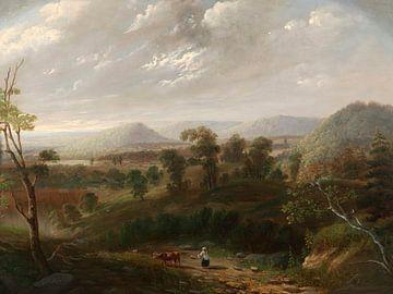 Nuages d'orage, Berkshires, George Inness