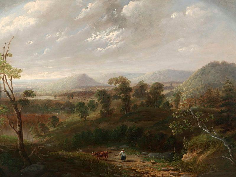 Sturmwolken, Berkshires, George Inness von Meesterlijcke Meesters