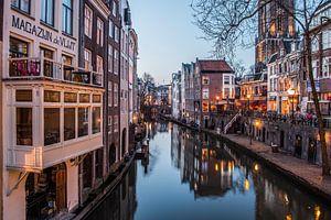 De Oudegracht in Utrecht van