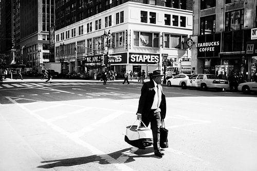 New York, 8th Avenue 38th street.
