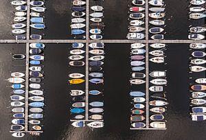 Boten in de haven van Van Renselaar Fotografie