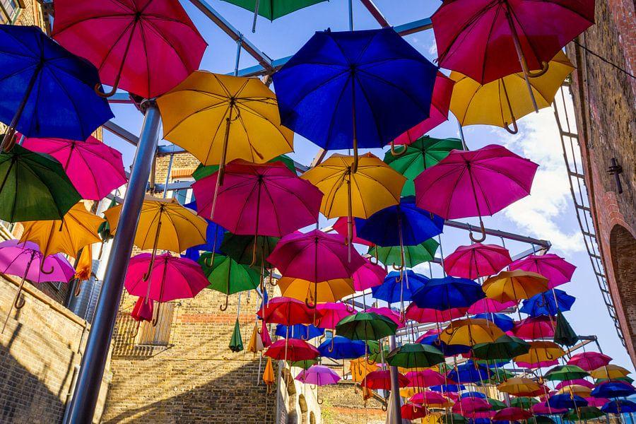 Gekleurde Paraplu's