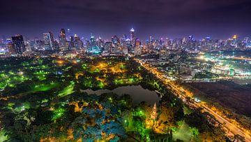 Lumpini Park in Bangkok von Jelle Dobma