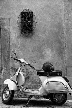 Scooter van Edwin Hendriks