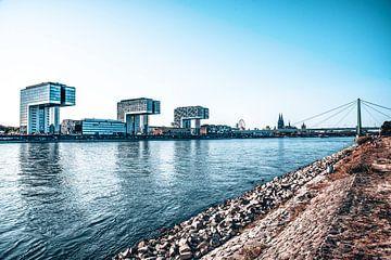 Köln Skyline Panorama von Michael Bartsch