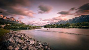Kanada - Rocky Mountains von Kees van Dongen