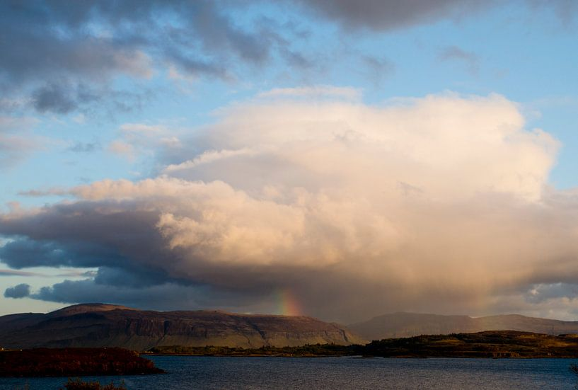 Landscape 'Little rainbow' van Greetje van Son