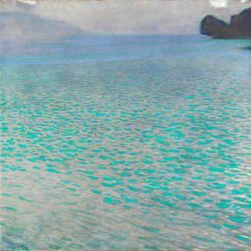 Der Attersee, Gustav Klimt