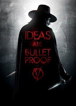 V voor Vendetta van Nikita Abakumov